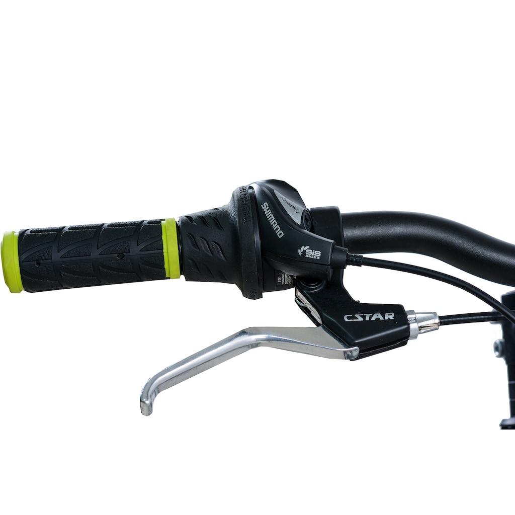 KCP Mountainbike »Fairbanks«, 21 Gang Shimano Tourney RD-TY300-GS Schaltwerk, Kettenschaltung (1-tlg.)