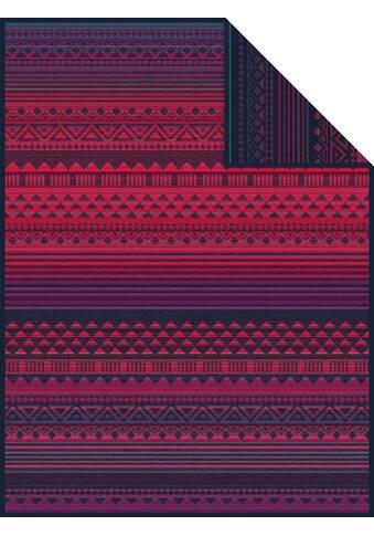 IBENA Wohndecke »Jacquard Decke Karawang«, mit Ethnomuster kaufen