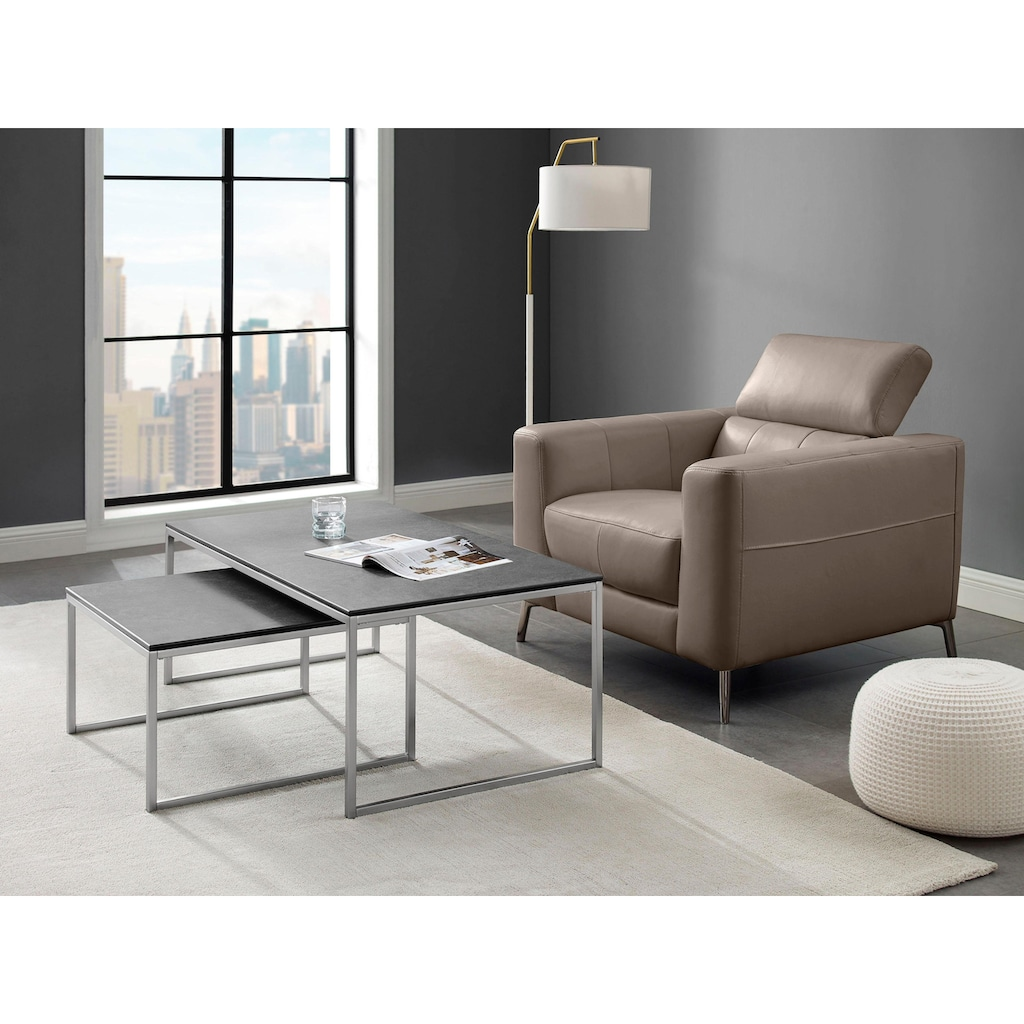 Places of Style Couchtisch »Ottawa«, (Set, 2er-Set), in modernem Design
