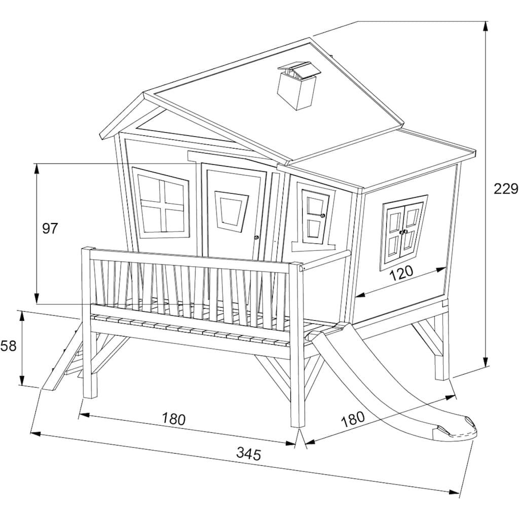AXI Spielturm »Emma«, BxTxH: 349x193x227 cm
