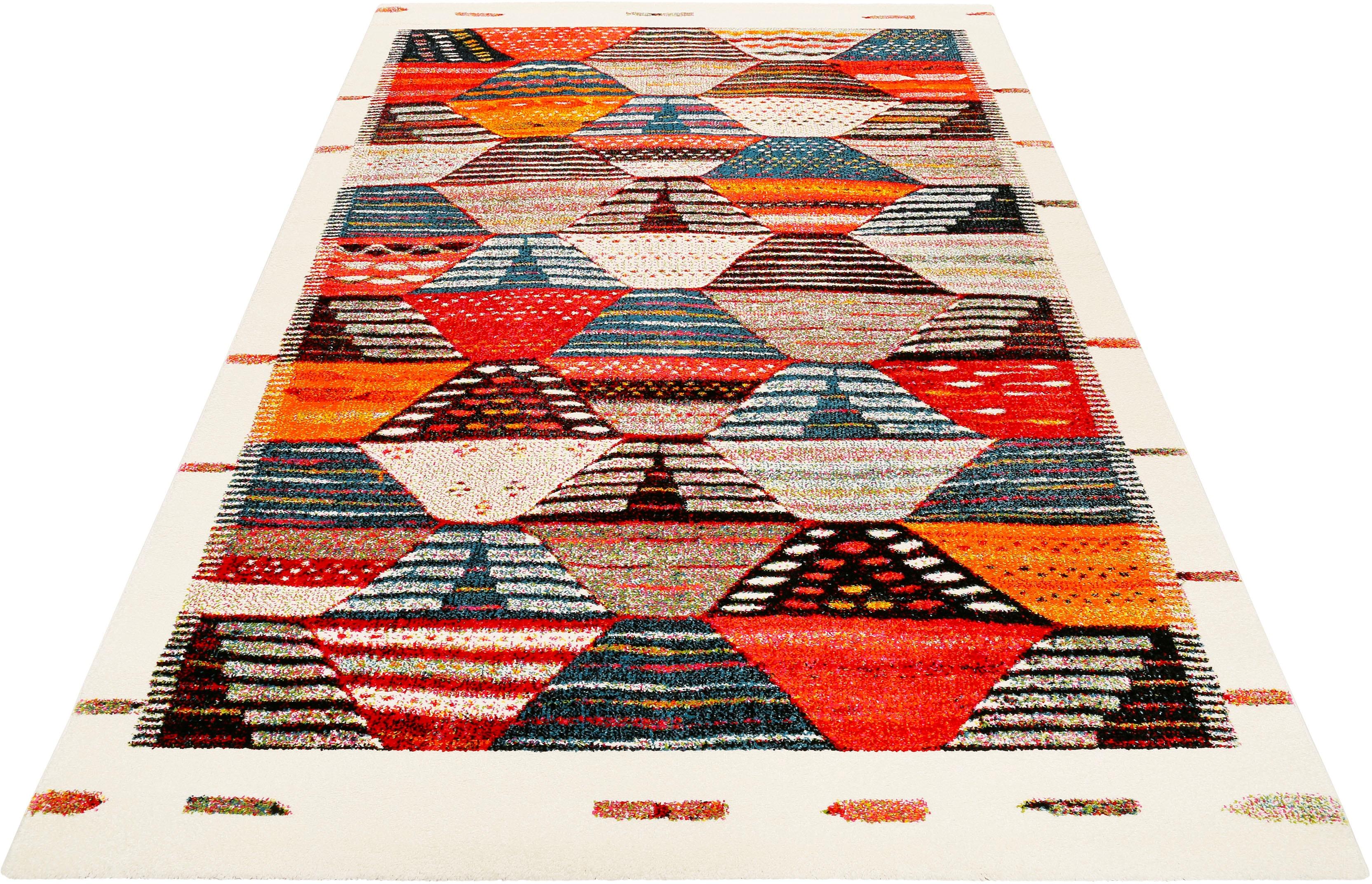 Teppich Modern Berber Wecon Home rechteckig Höhe 13 mm maschinell gewebt