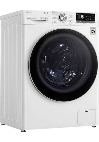 LG Waschmaschine »F4WV709P1E«, Serie 7, F4WV709P1E, 9 kg, 1400 U/min kaufen