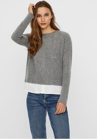 Vero Moda Rundhalsshirt »VMBRIANA« kaufen