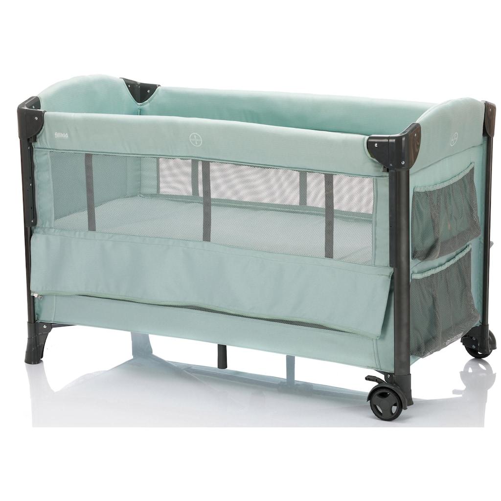 Fillikid Baby-Reisebett »Faltbett, mint«, inkl. Transporttasche