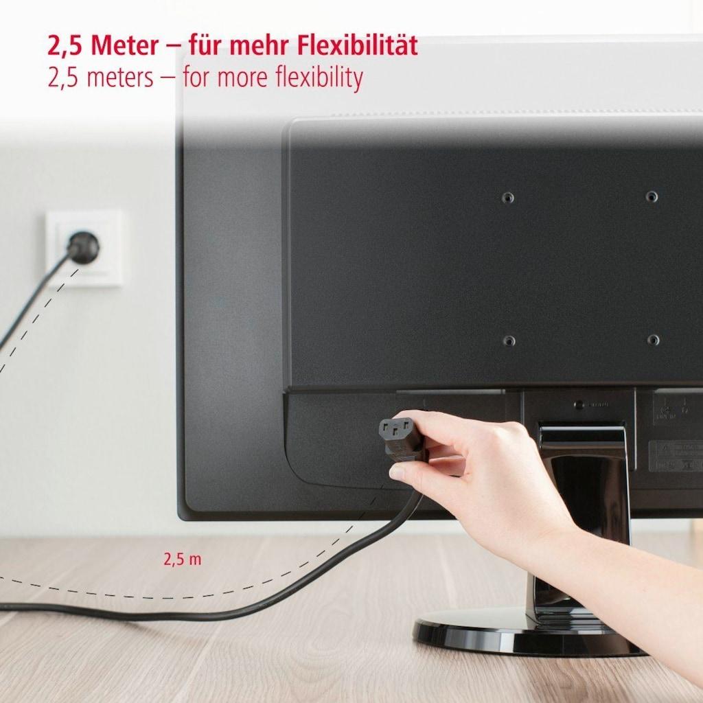 Hama Kaltgeräte-Zuleitung, Schutzkontakt-Stecker
