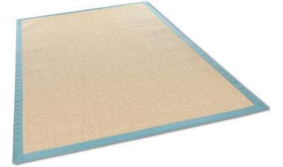 THEKO Sisalteppich »Sisalo«, rechteckig, 8 mm Höhe, Obermaterial: 100% Sisal, Wohnzimmer kaufen