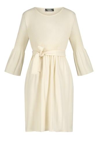 Nicowa Plisseekleid, mit Bindegürtel kaufen