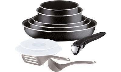 Tefal Topf-Set »Ingenio Essential«, Aluminium, (Set, 10 tlg.), L20098, Aluminium,... kaufen
