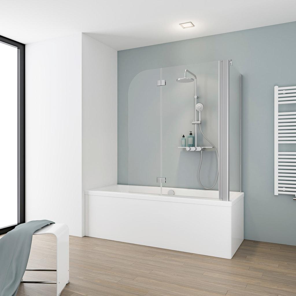 Schulte Badewannenaufsatz »Komfort«, BxH: 114,6 x 140 cm