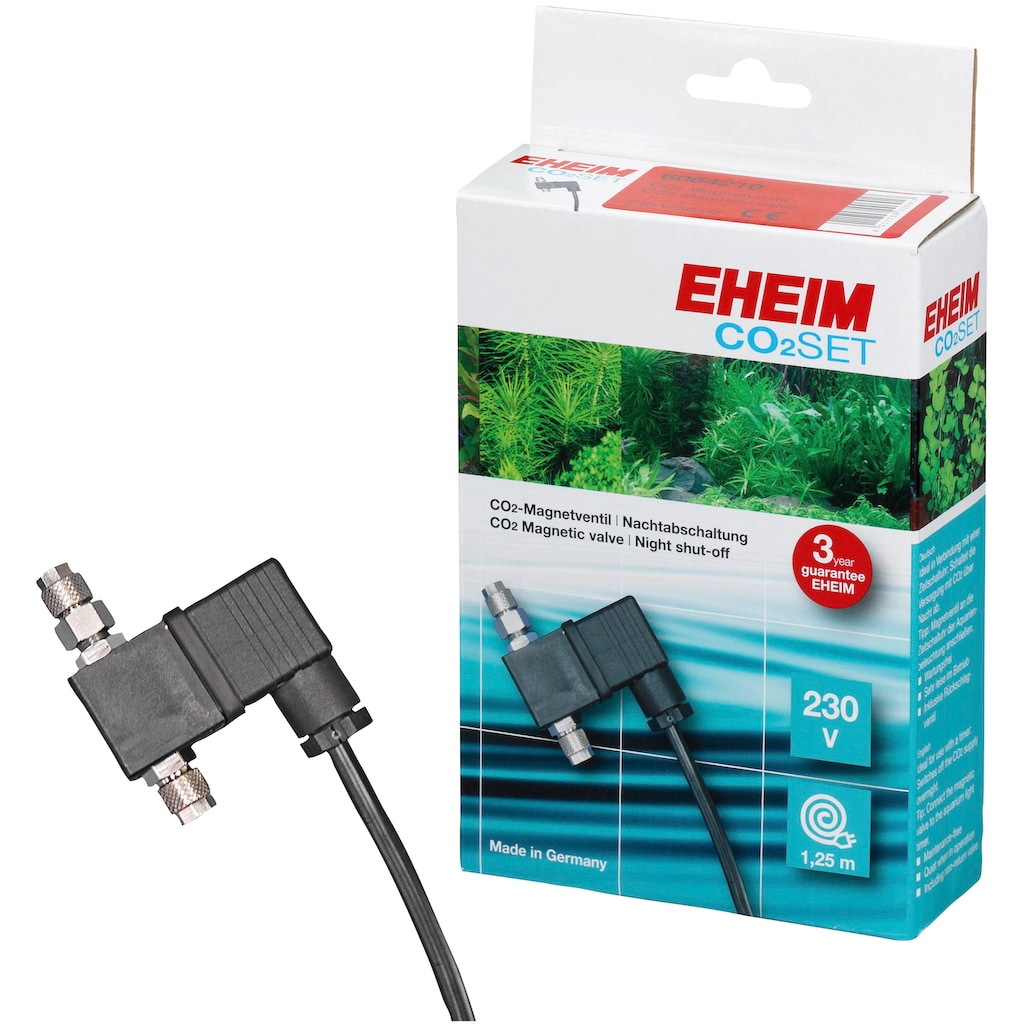 EHEIM Regulierventil »CO²-Set«, Magnetventil zur Nachtabschaltung 230V