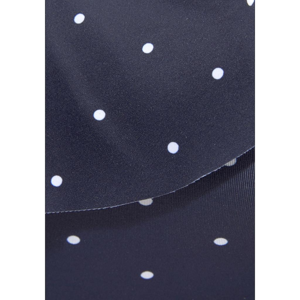 LASCANA Bustier-Bikini-Top »Sparkel«, mit Rüsche und in One-Shoulder-Form