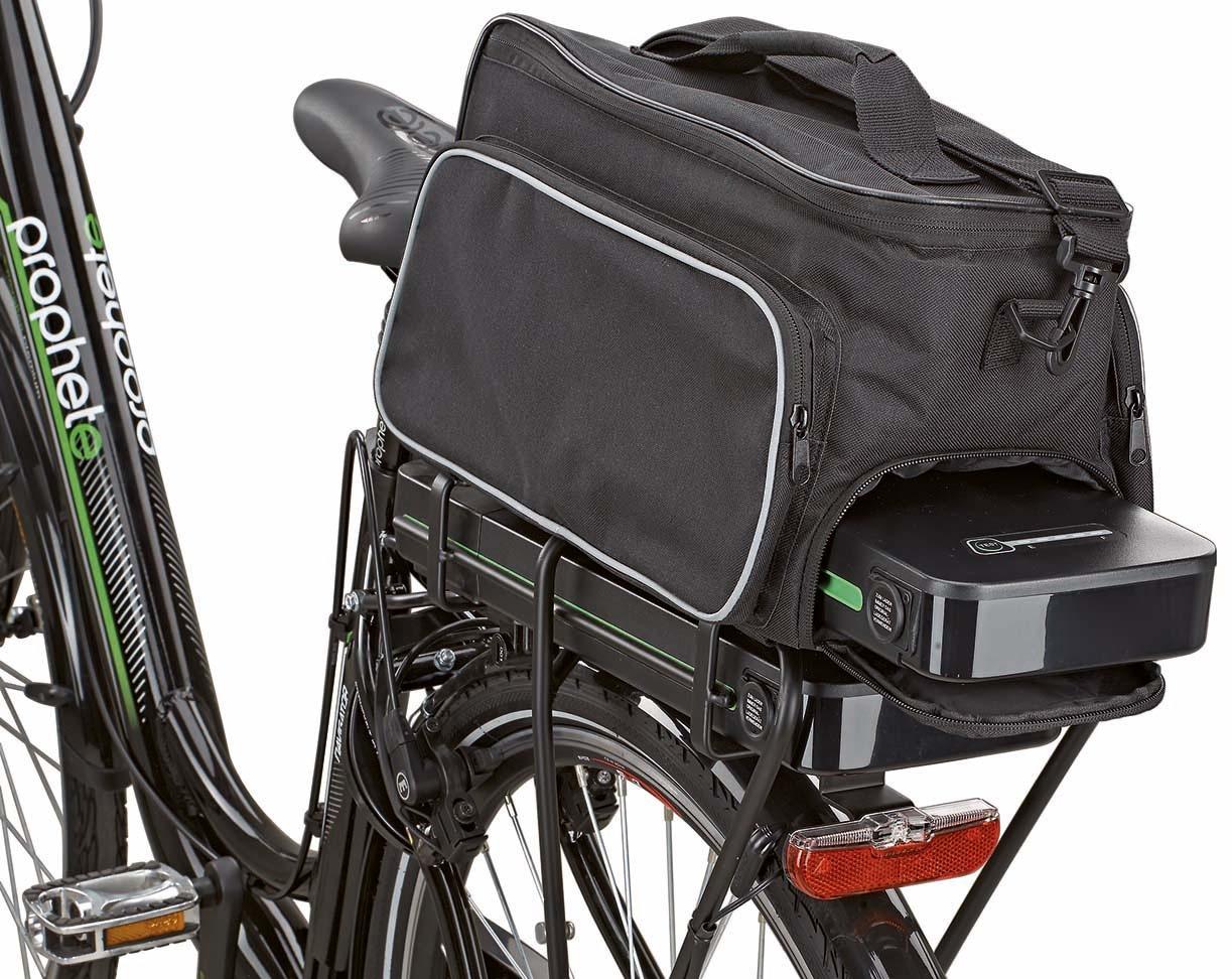 Prophete Fahrradtasche schwarz Fahrradtaschen Fahrradzubehör Fahrräder Zubehör Taschen