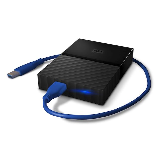 WD My Passport Gaming Storage »Gaming-Speicher. Entwickelt für die PlayStation 4.«