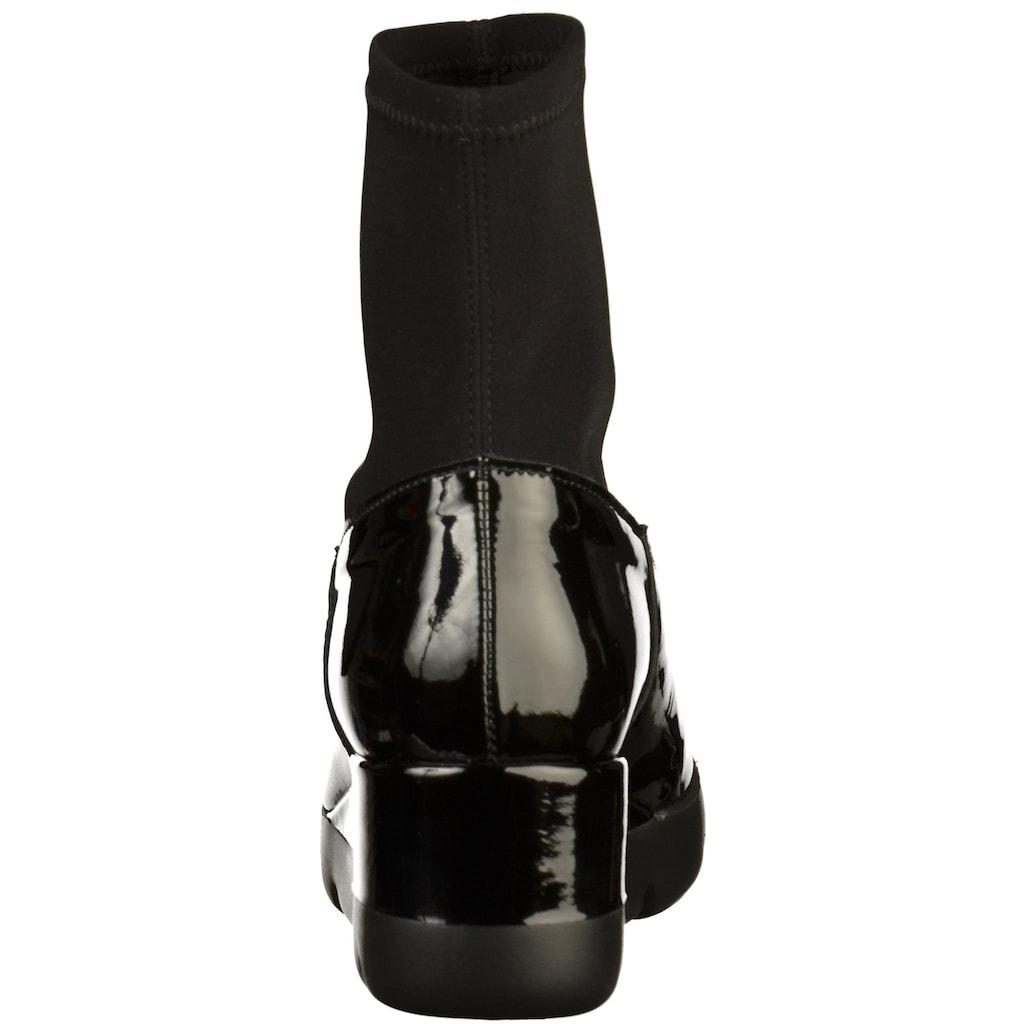 GADEA Keilstiefelette »Leder/Textil«