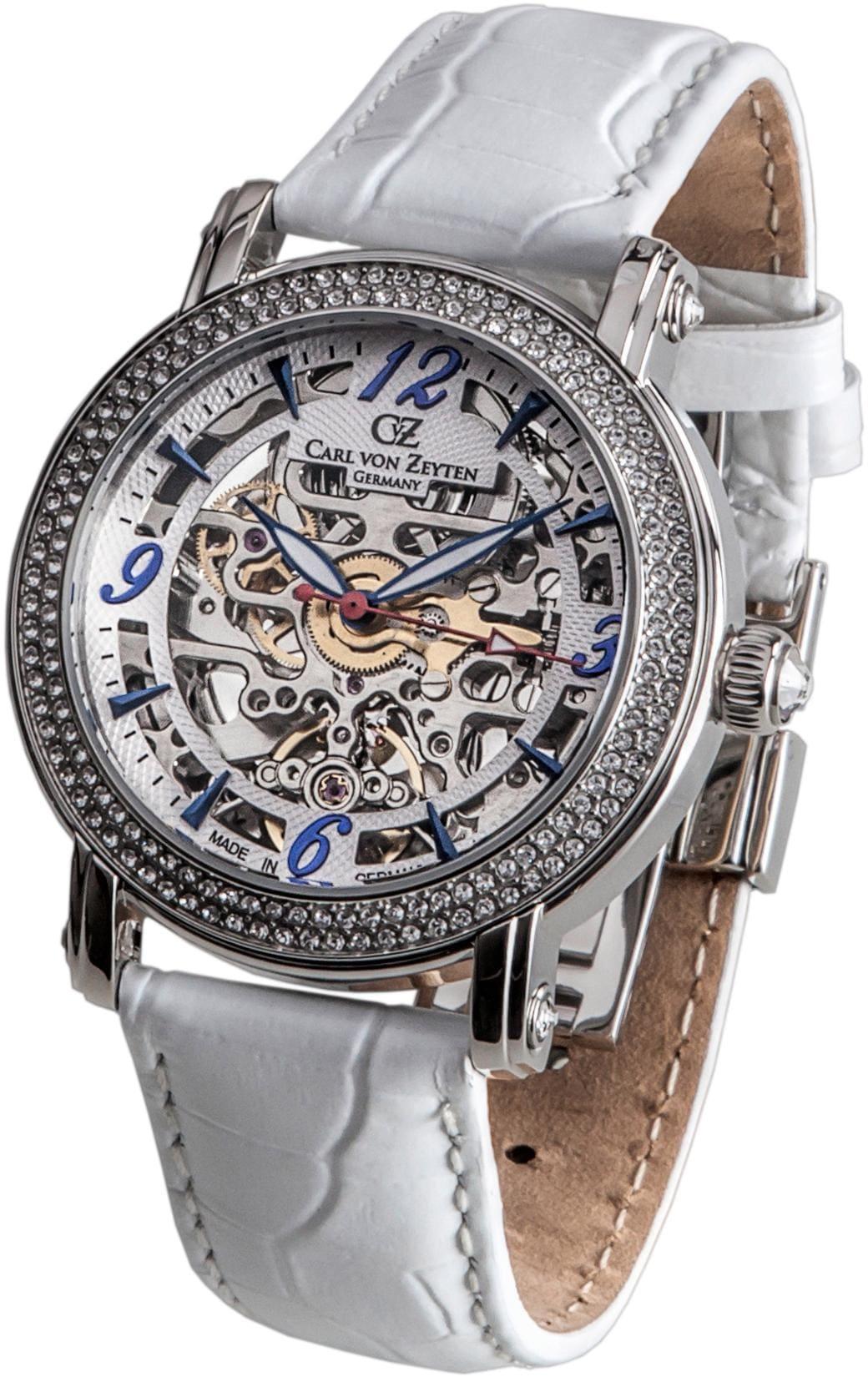 Carl von Zeyten Automatikuhr Wolfach CVZ0061WH | Uhren > Automatikuhren | Carl Von Zeyten