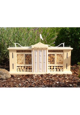 LUXUS-INSEKTENHOTEL Insektenhotel »Weißer Palast«, BxTxH: 58x12x33 cm kaufen
