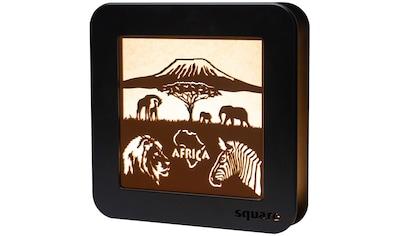 Weigla LED Dekolicht »Wandbild Africa«, 1 St., Neutralweiß, Batteriebetrieb/ LED... kaufen