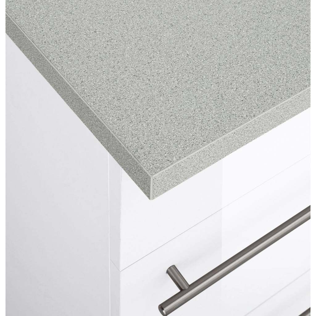 wiho Küchen Küchenzeile »Chicago«, mit E-Geräten, Breite 360 cm