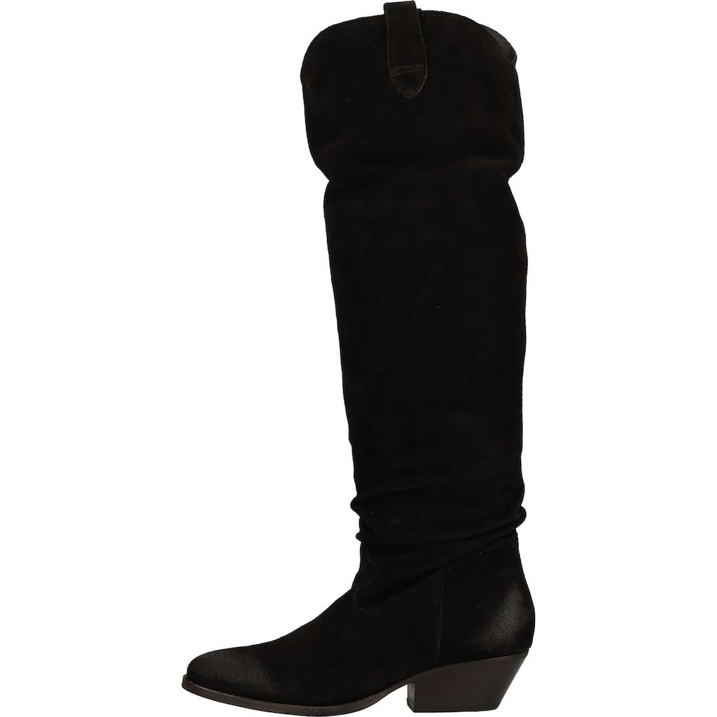 Lazamani Stiefel »Veloursleder«