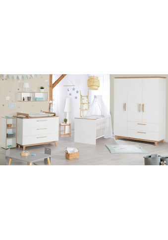 roba® Babyzimmer-Komplettset »Finn«, (Set, 3 St.), mit Kinderbett, Schrank und... kaufen