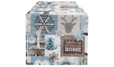 HOSSNER - HOMECOLLECTION Tischläufer »Winter-Charme« kaufen