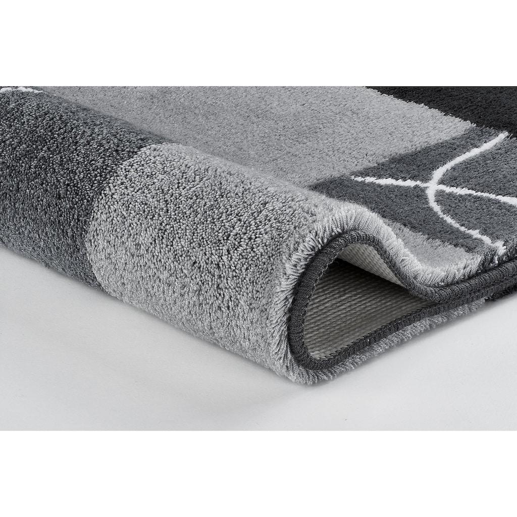 MEUSCH Badematte »Curly«, Höhe 20 mm, rutschhemmend beschichtet, fußbodenheizungsgeeignet
