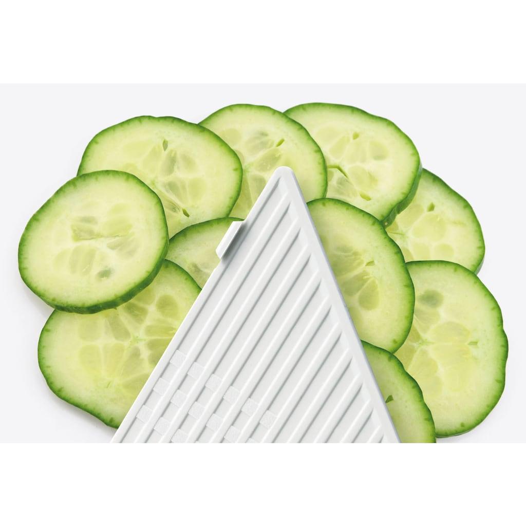GSD HAUSHALTSGERÄTE Gemüsehobel »2-in-1«, mit 2 auswechselbaren Einsätzen