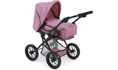 CHIC2000 Kombi-Puppenwagen »Leni, Jeans Pink«, mit herausnehmbarer Tragetasche kaufen
