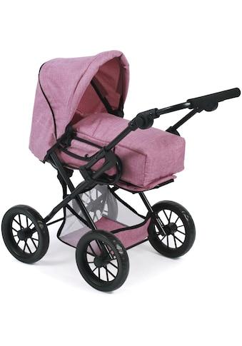 "CHIC2000 Kombi - Puppenwagen ""Leni, Jeans Pink"" kaufen"