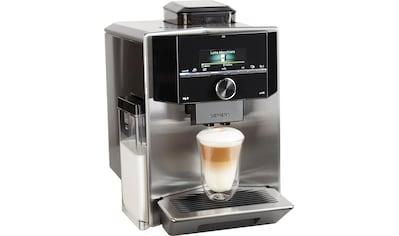 SIEMENS Kaffeevollautomat »EQ.9 s400 TI924501DE«, individualCoffee System: Persönliches Getränke-Menü für bis zu 6 Profile. kaufen