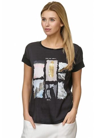 Decay T-Shirt »T-Shirt«, mit Vintage - Aufdruck kaufen