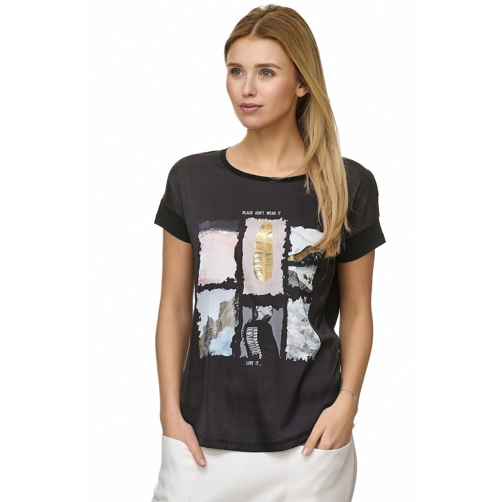 Decay T-Shirt »T-Shirt«, mit Vintage - Aufdruck