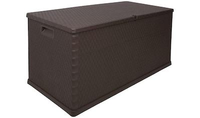ONDIS24 Kissenbox »Rattan«, 420 Liter, Kunststoff kaufen