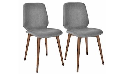 PBJ Polsterstuhl »Basic Cut«, Beine walnut, im nordischen Design kaufen