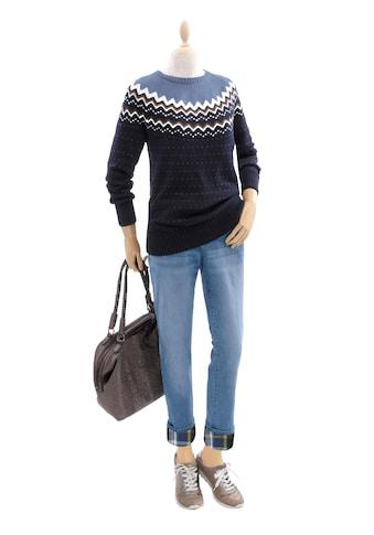 Casual Looks Pullover mit Pünktchendessin kaufen