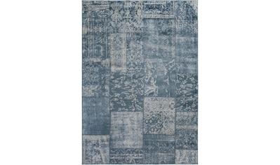 LUXOR living Teppich »Famos 3«, rechteckig, 4 mm Höhe, Kurzflor, Patchwork, Vintage... kaufen