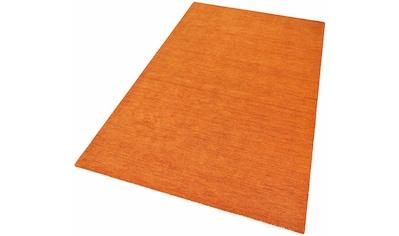 Wollteppich, »Gabbeh uni«, Theko Exklusiv, rechteckig, Höhe 15 mm, handgewebt kaufen