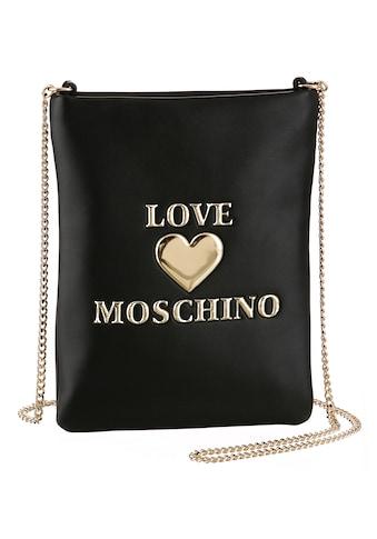 LOVE MOSCHINO Handytasche, mit goldfarbenen Details kaufen