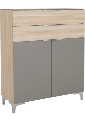 Maja Möbel Schuhschrank »SHINO Garderobe«, Oberplatte in ESG-Sicherheitsglas, Schubladen mit Filzeinlagen kaufen