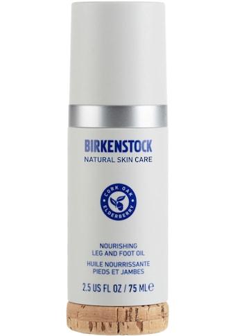 BIRKENSTOCK NATURAL SKIN CARE Fußöl »Nourishing Leg and Foot Oil« kaufen