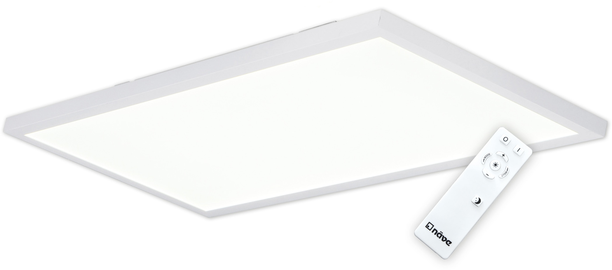 näve LED Deckenleuchte Salta, LED-Board, Warmweiß-Kaltweiß, LED Deckenlampe