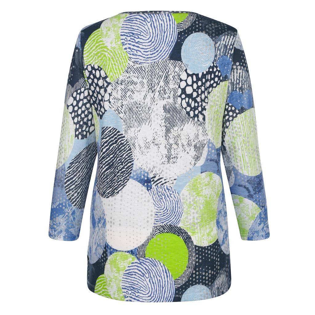 MIAMODA Print-Shirt, mit grafischem Muster