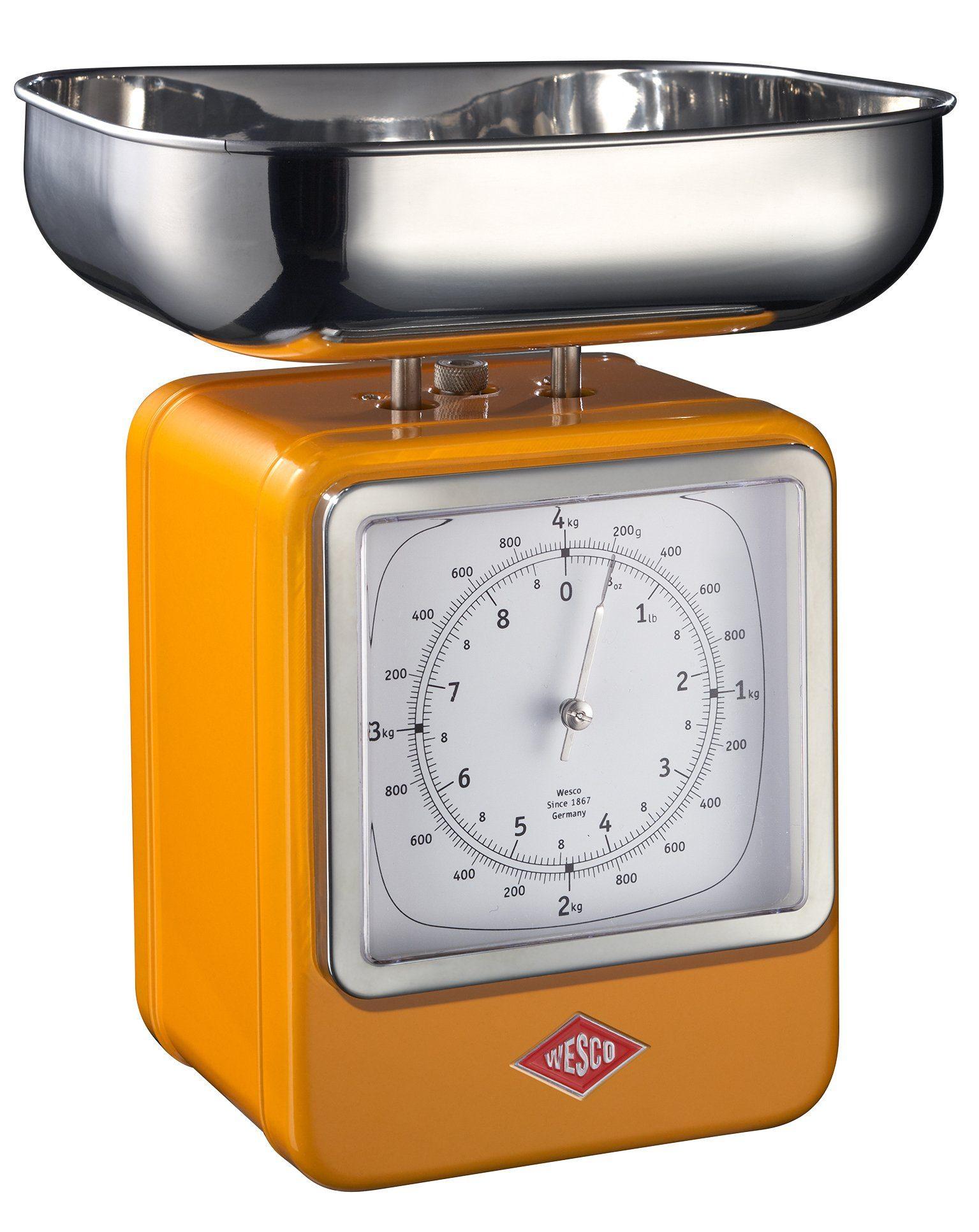Wesco Küchenwaage | Küche und Esszimmer > Küchengeräte > Küchenwaagen | Orange | Edelstahl | Wesco