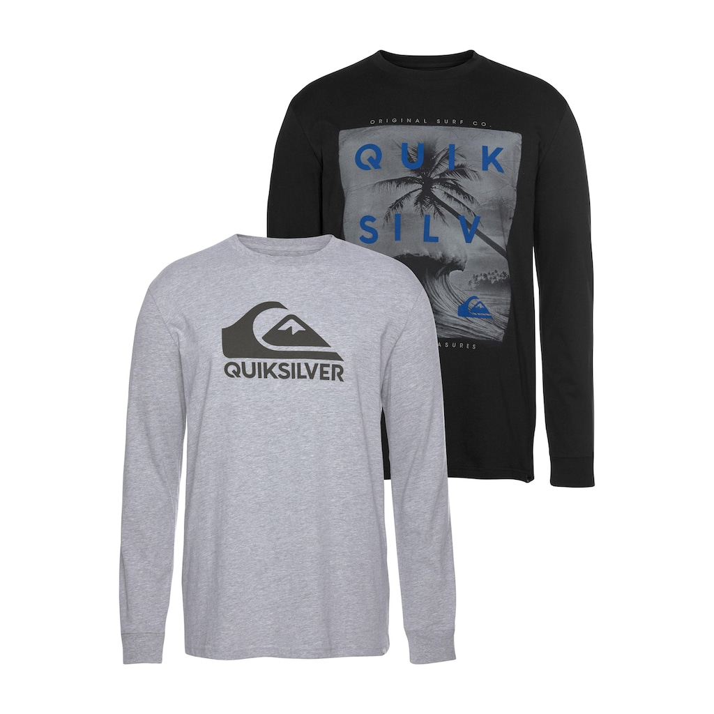 Quiksilver Longsleeve »OUTER M&W RETHIN PACK«