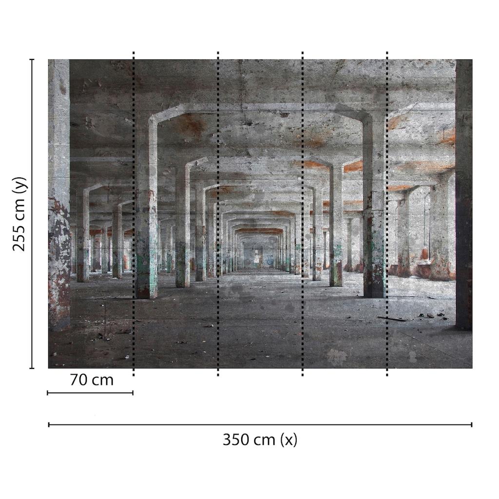 living walls Fototapete »Designwalls Concrete Posts«