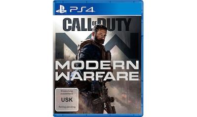 Call of Duty Modern Warfare PlayStation 4 kaufen