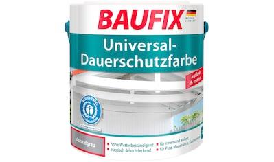 BAUFIX Acryl Buntlack »Universal - Dauerschutzfarbe«, dunkelgrau, 2,5 L kaufen