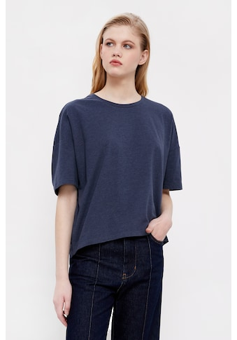 Finn Flare T-Shirt »-«, im trendigen Oversize-Schnitt kaufen