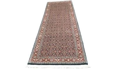 morgenland Wollteppich »Bidjar Teppich handgeknüpft blau«, rechteckig, 15 mm Höhe kaufen