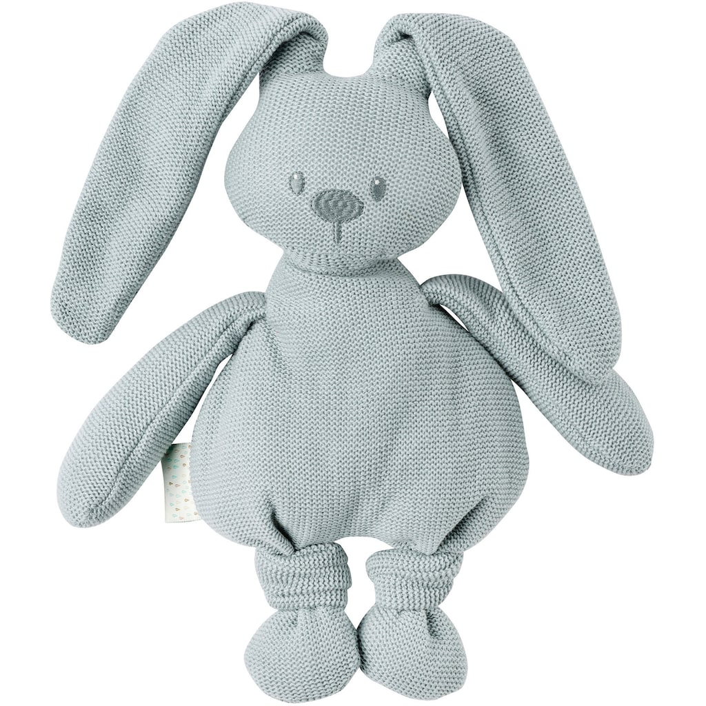Nattou Kuscheltier »lapidou cuddly cotton Hase, kupfergrün«